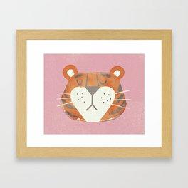 Tiger Thursday Framed Art Print