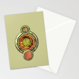 Tris Food Stationery Cards
