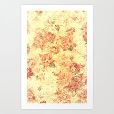 TEXTURE OF FLOWER V Art Print