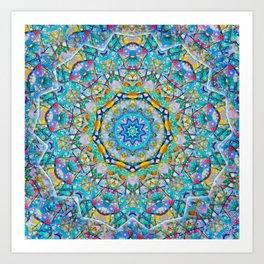 Deco Star Art Print
