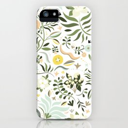Spring at the Farmhouse iPhone Case