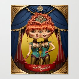 Amelia & Cordela Canvas Print