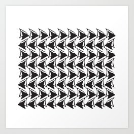 Reverse Wave Art Print