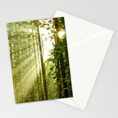 A Light Peeks Through Stationery Cards