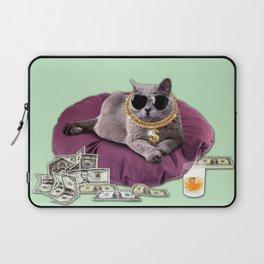 GANGSTA CAT Laptop Sleeve