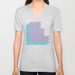 Okie Dokie Smokie Design Unisex V-Neck