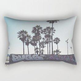 Palms x Walls Rectangular Pillow