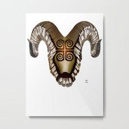 Dwennimmen - Strong but humble Metal Print