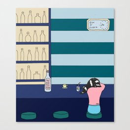 Gin o' Clock Canvas Print