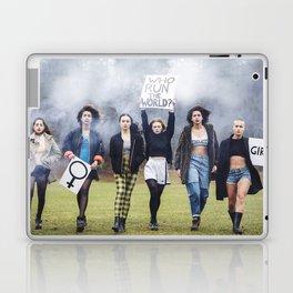 Who runs the world? GIRLS!  Laptop & iPad Skin