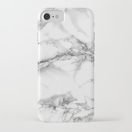 Marble - Gray iPhone Case