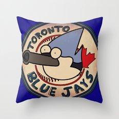 Toronto Mordecais Throw Pillow