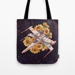 Flowers wing Tote Bag