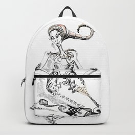 A woman as a sign Scorpio Backpack