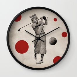 Anthropomorphic N°13 Wall Clock