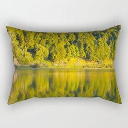 Furnas lake Rectangular Pillow