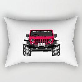 aussie_jeepgirl Rectangular Pillow