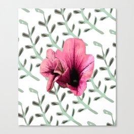 Uno Flower Canvas Print