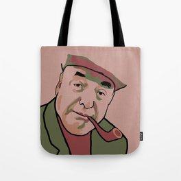 Pablo Neruda Tote Bag