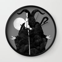 death Wall Clocks featuring Death by Gurven