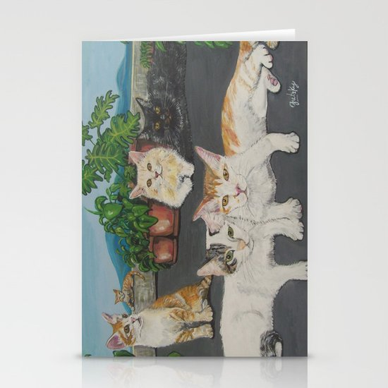 Lia's Cats Stationery Cards