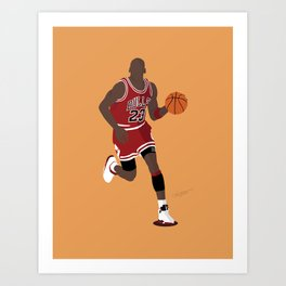 MJ23 Art Print