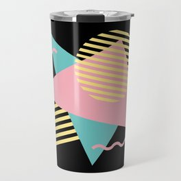 Memphis Pattern 28 / 80s - 90s Retro Travel Mug
