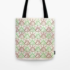Poop Pattern Tote Bag