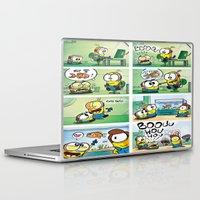 minion Laptop & iPad Skins featuring Minion by Duitk