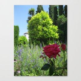 Los Flores y Arboles Canvas Print