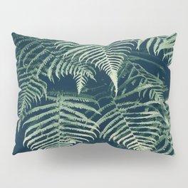 Fern is the warmest color (Jade green tropical / jungle artwork) Pillow Sham