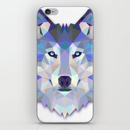 Colorful Wolf iPhone Skin
