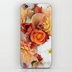 orange, yellow and white flowers iPhone & iPod Skin