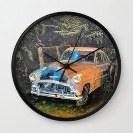 Facing West - Warant Expired Wall Clock