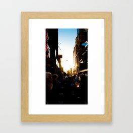 Paint by Light Framed Art Print