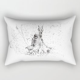 Out of the Mist Rectangular Pillow