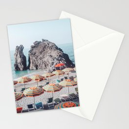 Cinque Terre Beach 1 Stationery Cards