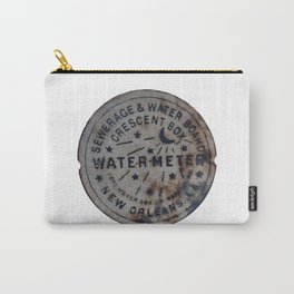 Street Water Meter - New Orleans LA Carry-All Pouch