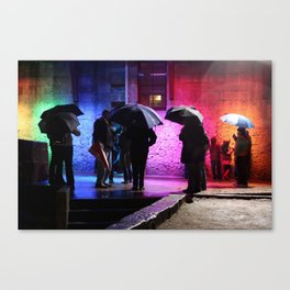 Rainbowed Canvas Print