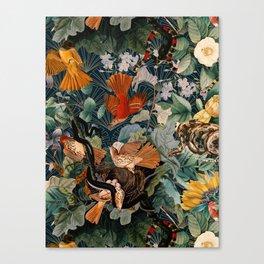 Birds and snakes Leinwanddruck