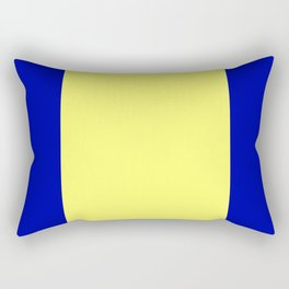 Re-Created ONE No. 48 by Robert S. Lee Rectangular Pillow