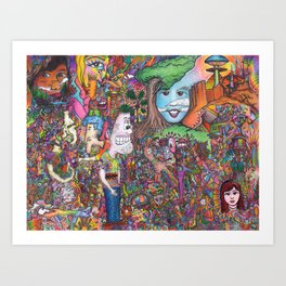 Take A Look Art Print