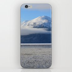 Winter Fog - Turnagain Arm, Alaska iPhone & iPod Skin