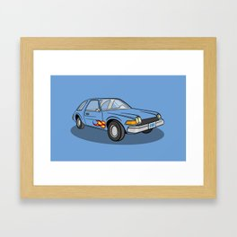 Mirth Mobile Framed Art Print
