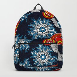 Aboriginal Art Authentic - The Journey Backpack