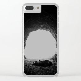 Cave Interior Clear iPhone Case
