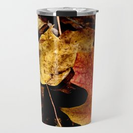 Fallen Leaves Travel Mug