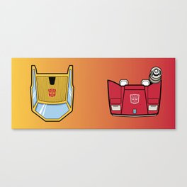 Transformers - Sunstreaker and Sideswipe mug request Canvas Print