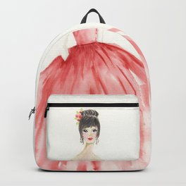 The Red Ball Gown Backpack