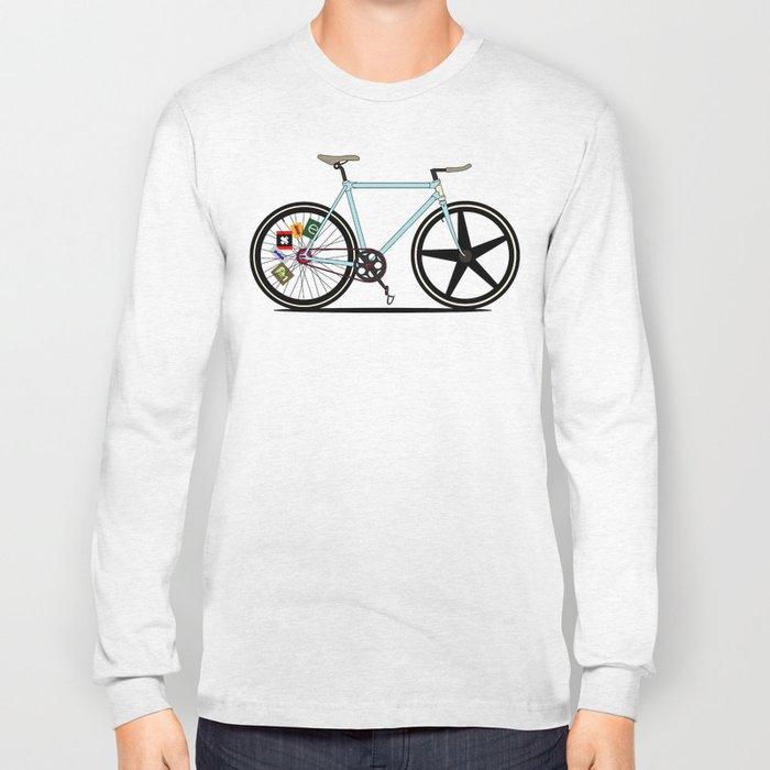 Fixie Bike Long Sleeve T-shirt
